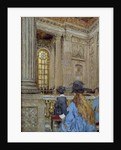 The chapel at the the Chateau of Versailles by Edouard Vuillard
