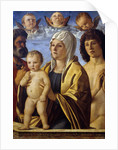 The Virgin and Child Jesus between St. Peter and St. Sebastian by Giovanni Bellini