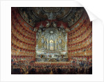 Concert at the Argentina theatre in Rome by Giovanni Paolo Pannini