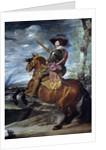 Gaspar de Guzman, Count-Duke of Olivares, on Horseback by Diego Velazquez