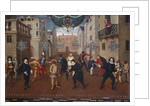 Commedia dell'Arte: Italian and French Comedians Playing in Farces by Corbis