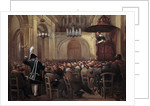 Lacordaire preaching at the Cathedral of Nancy by Corbis
