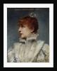 Portrait of Sarah Bernhardt by Louise Abbema