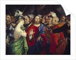 Christ and the Woman Taken in Adultery by Lorenzo Lotto
