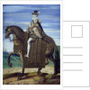 Equestrian portrait of Henry IV by Corbis
