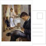 Breakfast at Berneval by Pierre Auguste Renoir