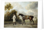 Portrait of Assheton and his mare Maria by George Stubbs