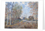 A Corner of the Woods at Sablons by Alfred Sisley