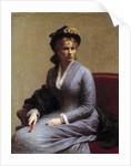 Portrait of Charlotte Dubourg by Henri Fantin Latour