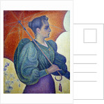Woman with a Parasol by Paul Signac