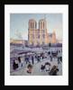 The Quai Saint-Michel and Notre-Dame by Maximilien Luce
