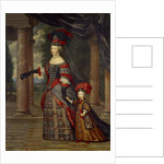 Portrait of Maria Theresa of Austria with Her Son by Pierre Mignard