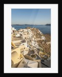 Oia, view of the village by Corbis