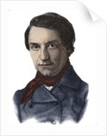 Historian and Politician Louis Blanc (1811-1882) by Corbis