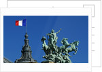 French flag by Corbis