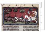 Fox hunting, 14th century by Corbis