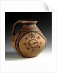 Sub-geometric bichrome jug, 5th century BC by Corbis