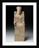 Statuette of an enthroned goddess, ca 550 BC by Corbis