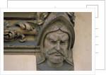 Face, Sculpture, Sukiennice, Cloth Hall, Market Square, Krakow, Poland by Corbis