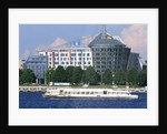 Cruise Ship, Daugava River, Riga, Latvia by Corbis