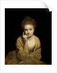 Study for the portrait of a young woman by Sir Joshua Reynolds