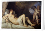 Danae by Titian