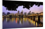 early morning Down Town Portland and Willamette River, Portland Oregon by Corbis