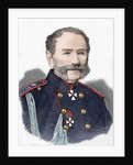 Count of Kotzebue. Engraving. Colored. by Corbis