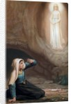 Bernadette Soubirous, a 14 year old girl, had visions of the Virgin Mary in 1858 by Corbis