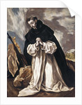 St. Dominic Praying by El Greco