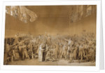 The Tennis Court Oath at Versailles, 1789 by Jacques Louis David