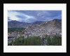 View of the town from a small hill near main bazaar by Corbis