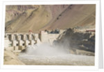 Alchi, the Dam along Indus River by Corbis