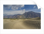Sand dunes along Shyok Valley by Corbis
