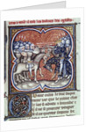 Charles Martel fighting the Saracens at Poitiers, 732 by Corbis
