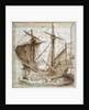 Caravel - 16th cent. Manuscript by Corbis