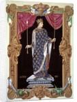 Portrait of Louis XI by Jean du Tillet
