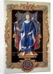 Portrait of King Philip VI of Valois by Jean du Tillet