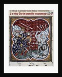Battle of Courtrai or the Battle of the Golden Spurs, 1302 by Corbis