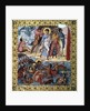 The crossing of the Red Sea by the Hebrews - 10th century illumi by Corbis