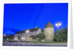 Zagreb Cathedral Fortification at Dawn by Corbis