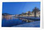 Split Waterfront at Dawn by Corbis