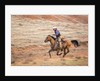 Cowboy at Full Gallop by Corbis