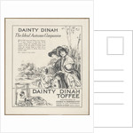 Dainty Dinah Toffee, c.1920. Artist: Wilfred Fryer by Corbis