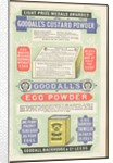 Goodall's Custard Powder, 1887. by Corbis