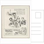 Dainty Dinah Toffee, c.1920. Artist: Wilfred Fryer by Corbis