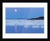 Full Moon and Melting Sea Ice, Repulse Bay, Nunavut Territory, Canada by Corbis