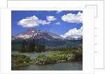 Broken Top Mountain & Sparks Lake by Corbis