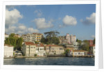 Beautiful houses along Bosporus by Corbis