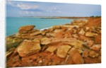 Cliff landscape at Gantheaume Point by Corbis